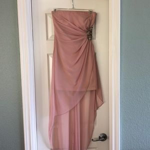 High low formal dress